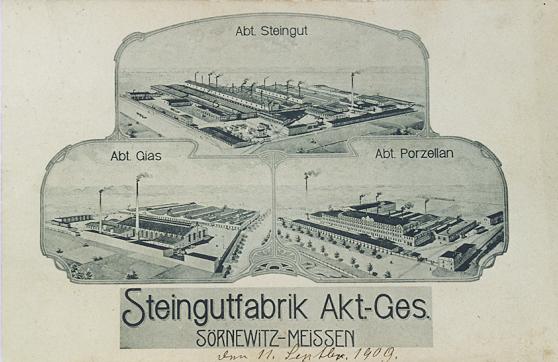 Steingut Sörnewitz-Meissen